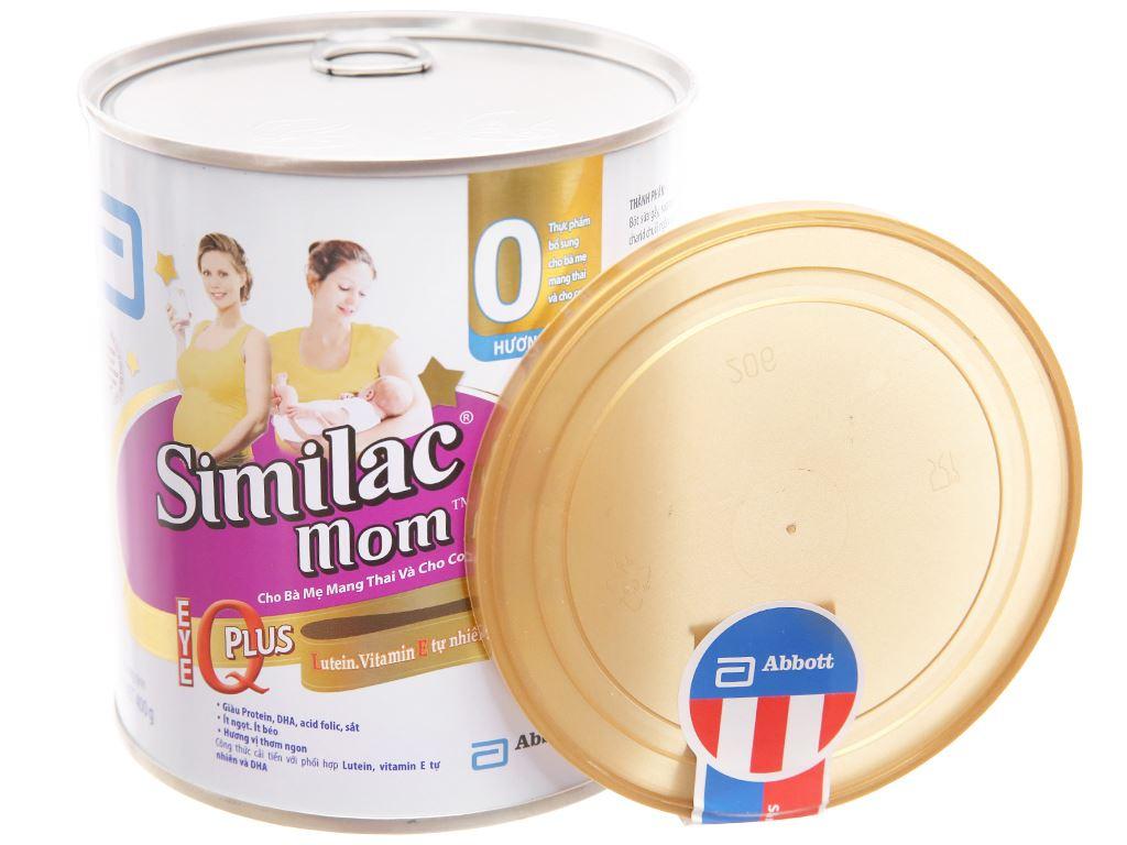 Sữa bột Abbott Similac Mom Eye-Q Plus ít béo lon 400g 4