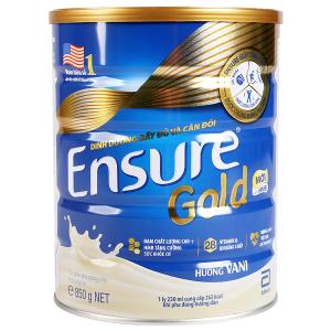 Sữa bột Ensure Gold vani lon 850g
