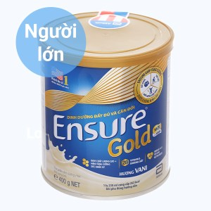 Sữa bột Ensure Gold vani lon 400g