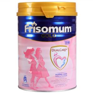 Sữa bột Frisomum Gold Dual Care+ vani lon 900g