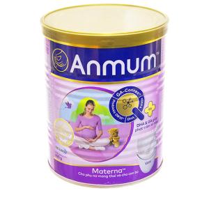 Sữa bột Anmum Materna vani ít béo lon 400g