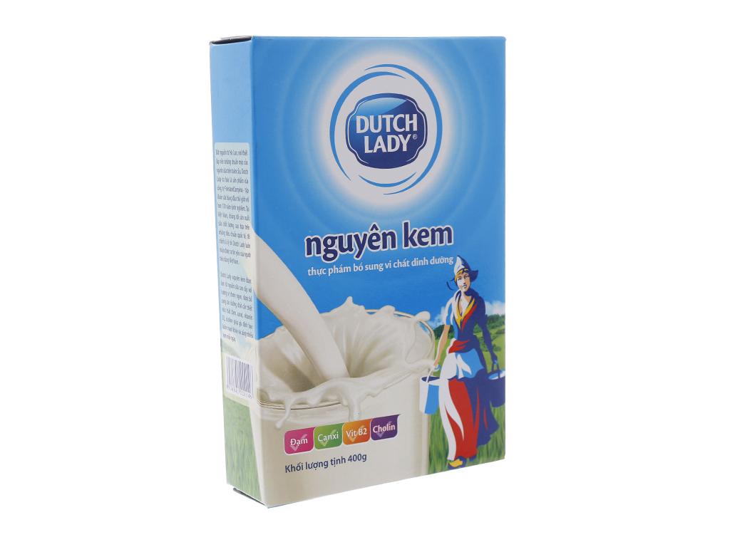 Sữa bột Dutch Lady nguyên kem hộp 400g 1