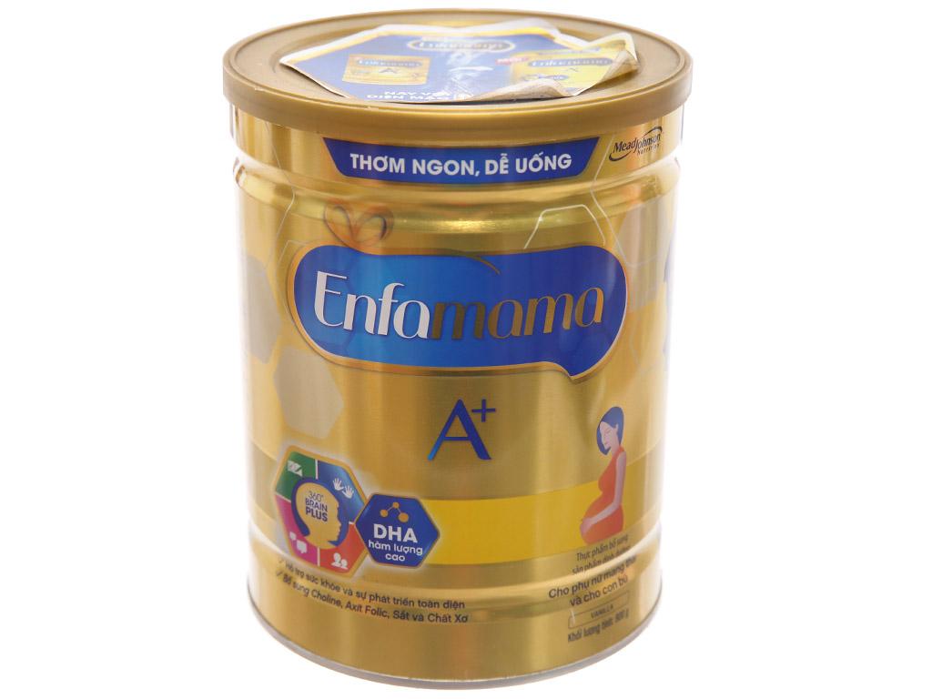 Sữa bột Enfamama A+ vani lon 900g 1