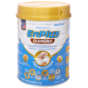 Sữa bột NutiFood EnPlus Diamond lon 900g (cho người cao tuổi)