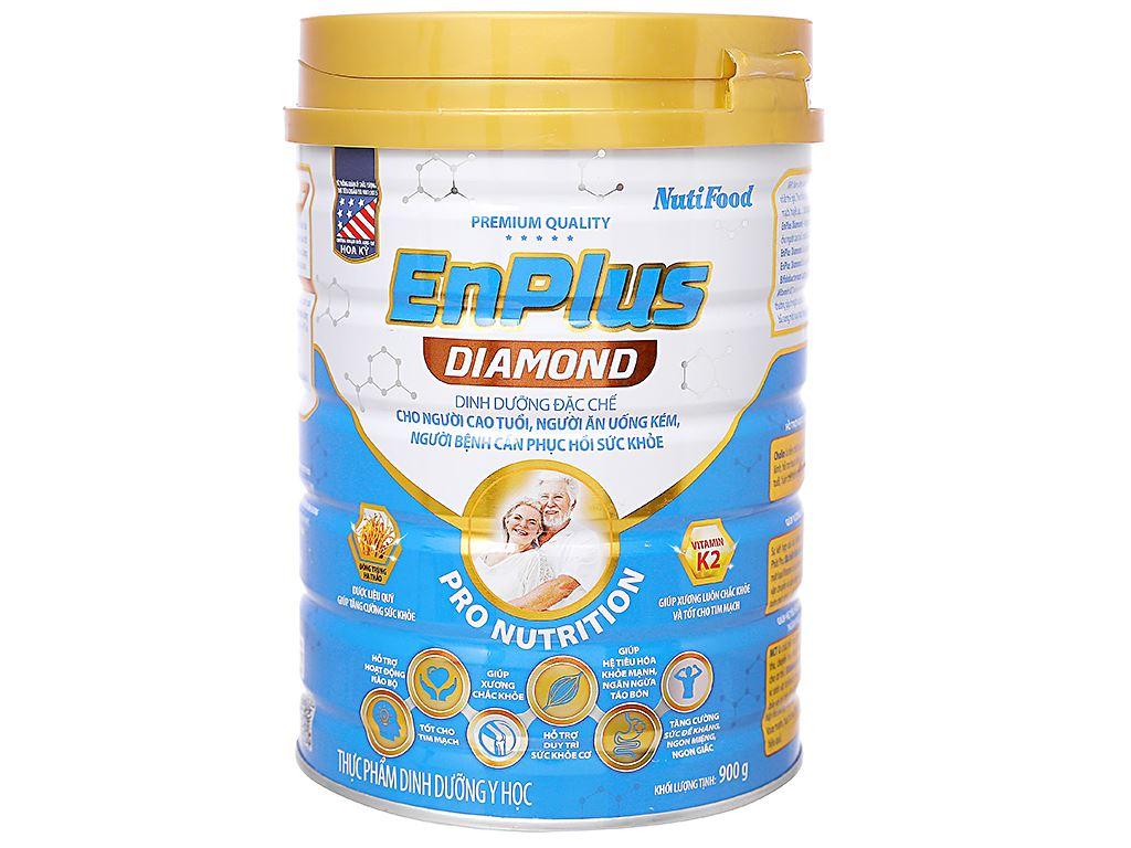 Sữa bột NutiFood EnPlus Diamond lon 900g (cho người cao tuổi) 1