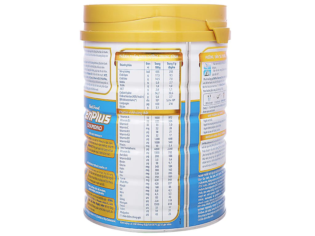 Sữa bột NutiFood EnPlus Diamond lon 900g (cho người cao tuổi) 3