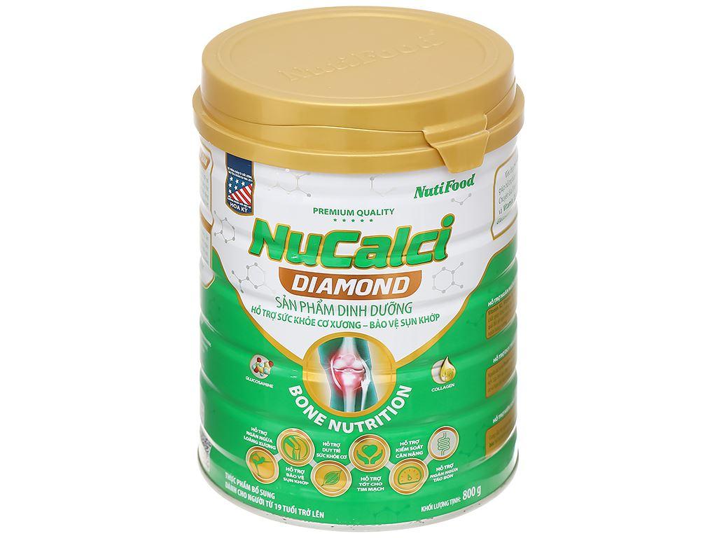 Sữa bột NutiFood Nucalci Diamond lon 800g (từ 19 tuổi) 1