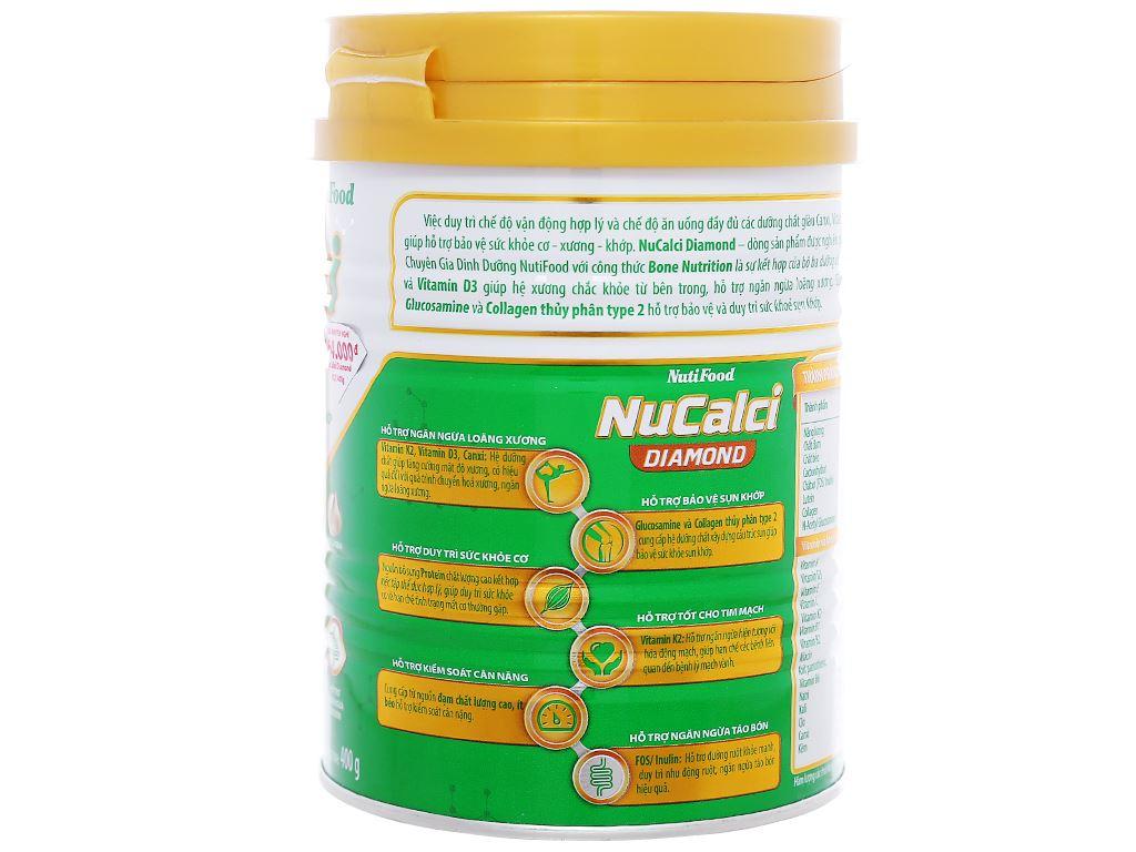 Sữa bột NutiFood Nucalci Diamond lon 400g (từ 19 tuổi) 3