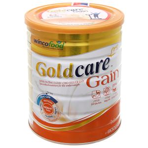 Sữa bột Wincofood GoldCare Gain hương vani lon 900g (dành cho người gầy)