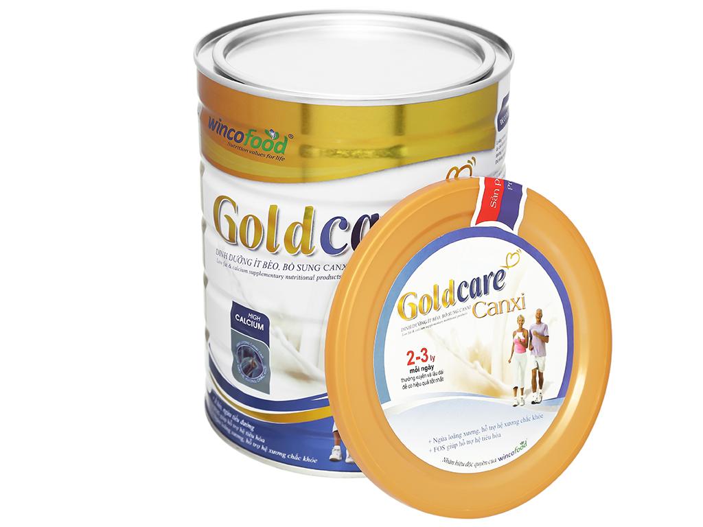 Sữa bột Wincofood GoldCare Canxi hương vani lon 900g 5