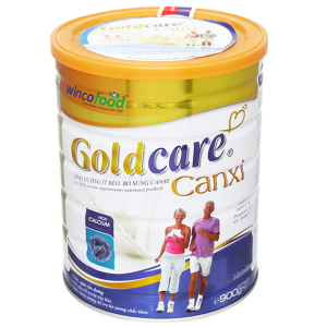 Sữa bột Wincofood GoldCare Canxi hương vani lon 900g