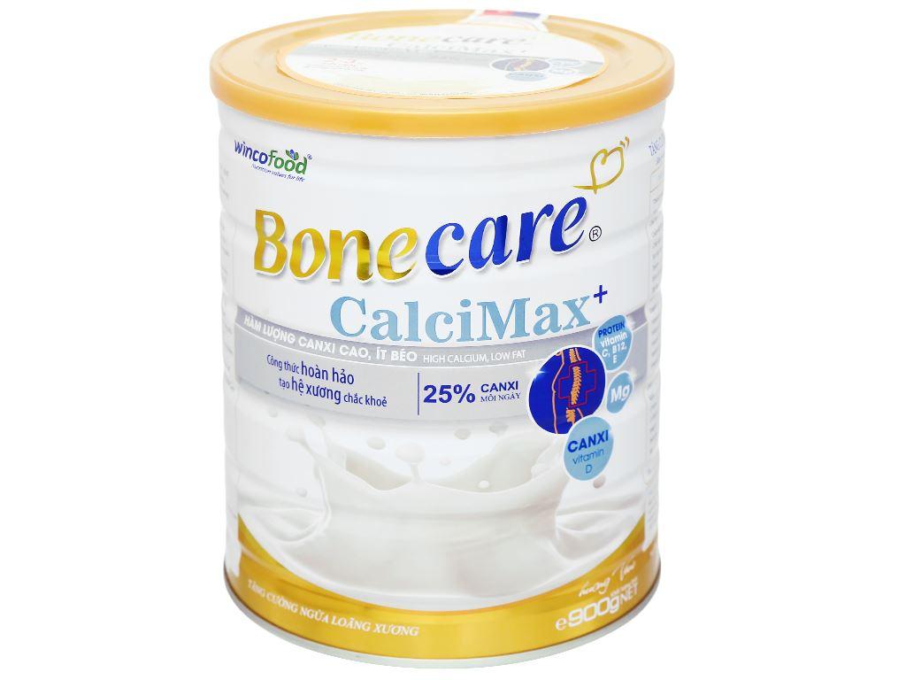 Sữa bột Wincofood Bonecare CalciMax+ hương vani lon 900g 2