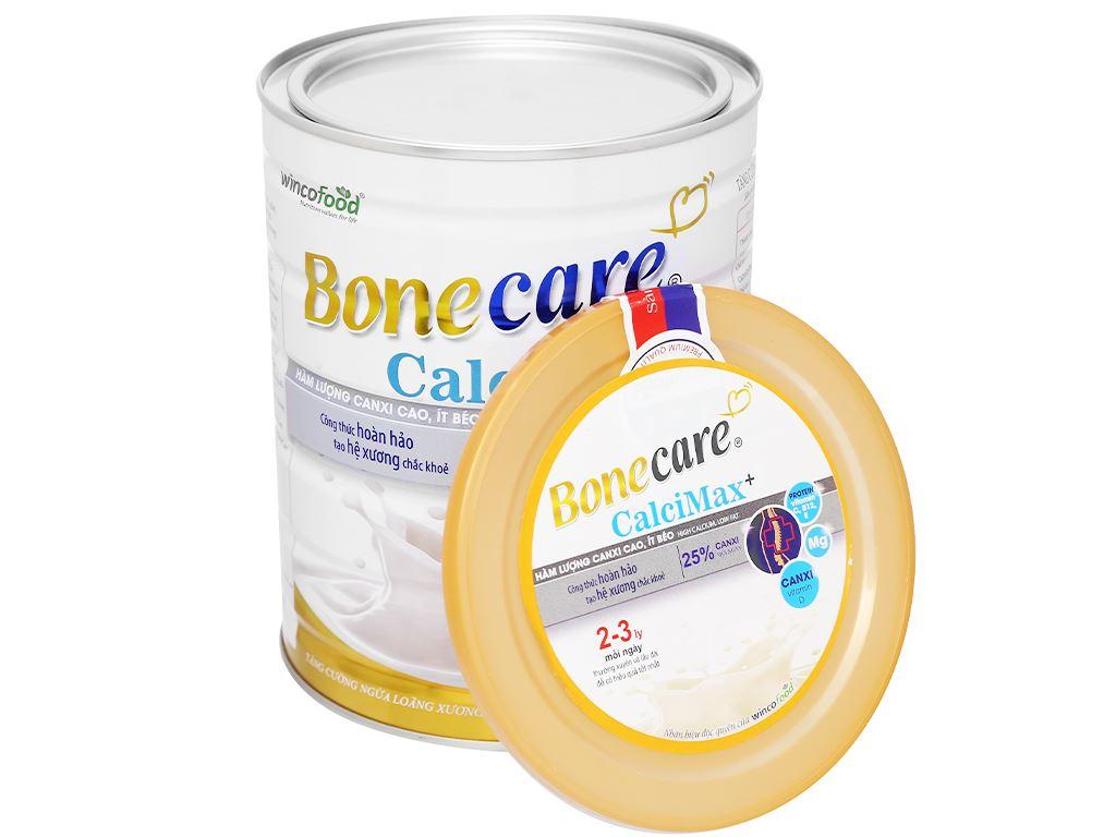 Sữa bột Wincofood Bonecare CalciMax+ hương vani lon 900g 5