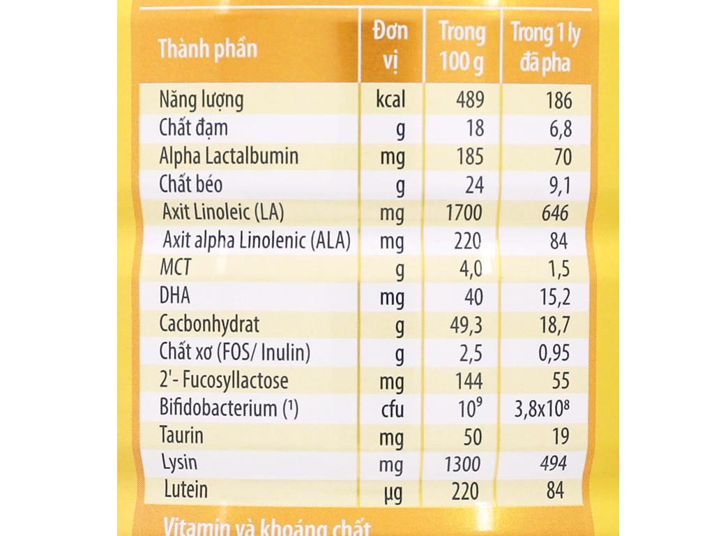 Sữa bột NutiFood Grow Plus+ Diamond 1+ lon 850g (1 - 2 tuổi) 4
