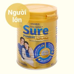 Sữa bột Vinamilk Sure Prevent Gold lon 400g