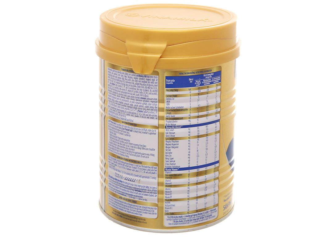 Sữa bột Vinamilk Sure Prevent Gold lon 900g 3