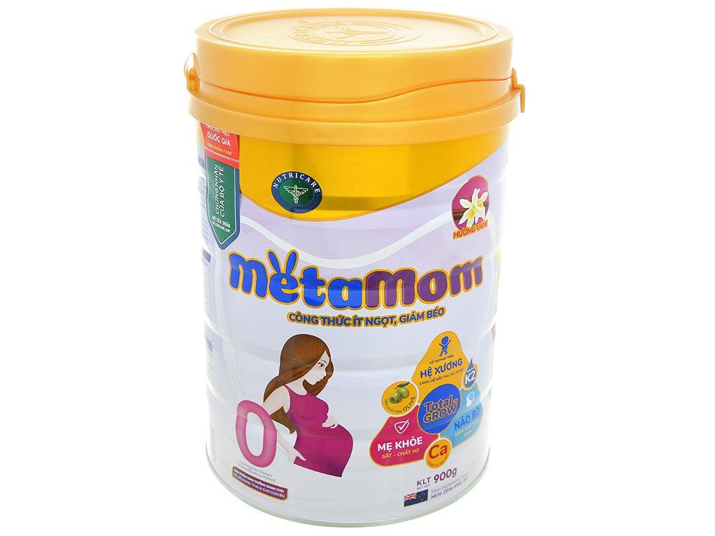 Sữa bột Nutricare MetaMom hương vani lon 900g 1