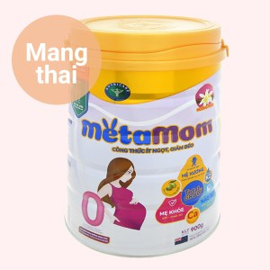 Sữa bột Nutricare MetaMom hương vani lon 900g