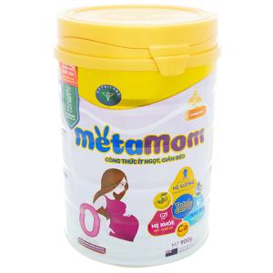 Sữa bột Nutricare MetaMom hương cam lon 900g