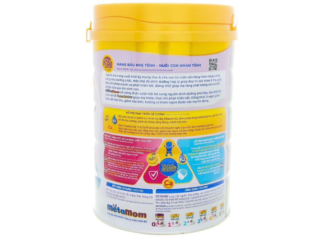 Sữa bột Nutricare MetaMom hương cam lon 900g 2