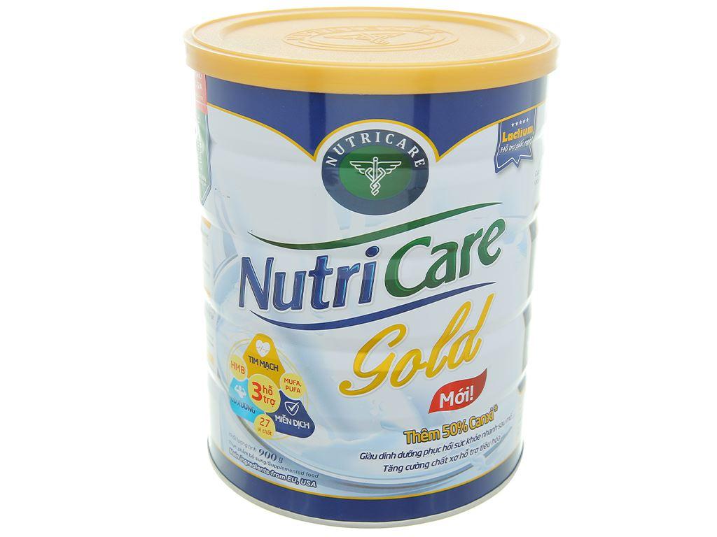 Sữa bột Nutricare Gold lon 900g 1
