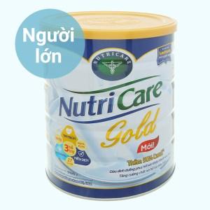 Sữa bột Nutricare Gold lon 900g