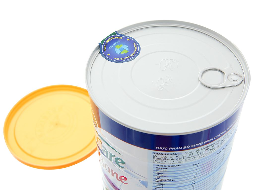 Sữa bột Nutricare Bone lon 900g 5