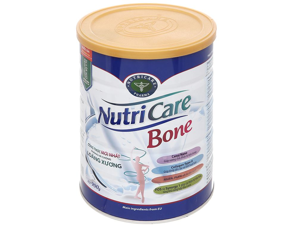 Sữa bột Nutricare Bone lon 900g 1
