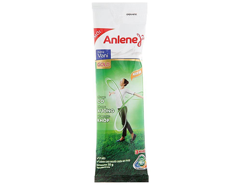 Sữa bột Anlene Gold MovePro hương vani gold hộp 140g (trên 40 tuổi) 9