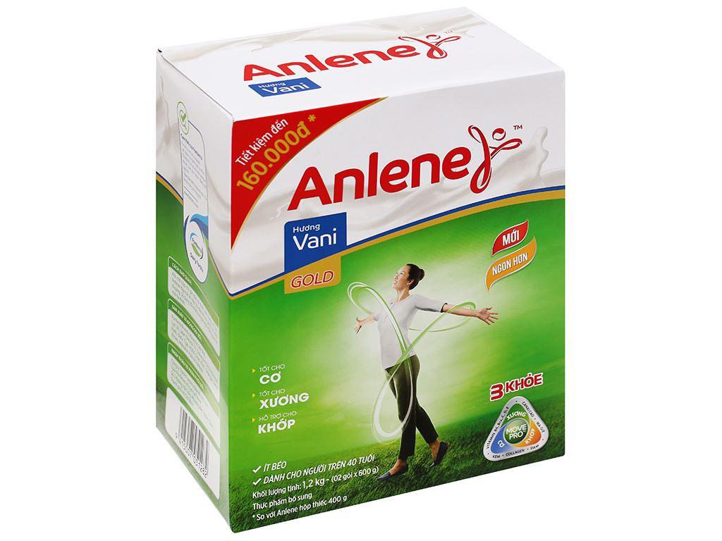 Sữa bột Anlene Gold MovePro hương vani hộp 1.2kg (trên 40 tuổi) 1