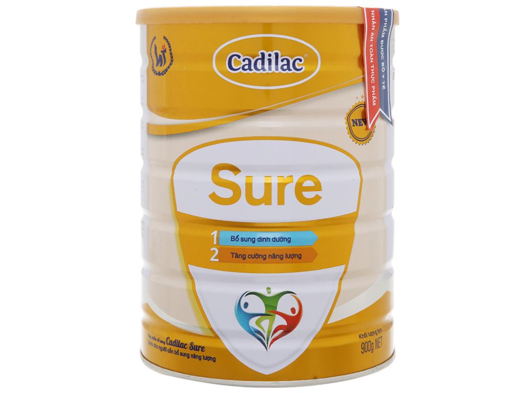 Sữa bột Cadilac Sure lon 900g 2