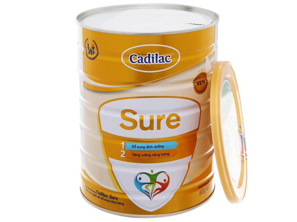 Sữa bột Cadilac Sure lon 900g 7