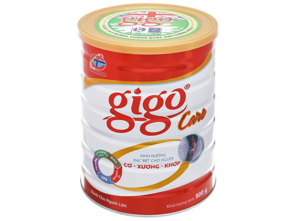 Sữa bột Gigo Care lon 900g 1