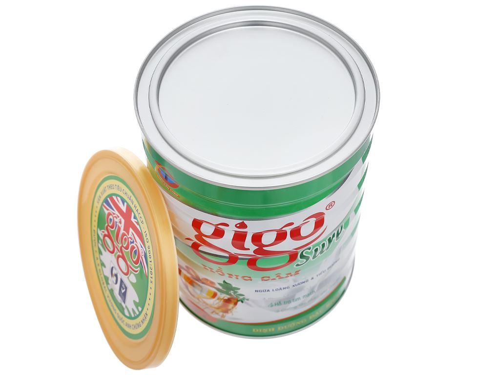Sữa bột Gigo Sure hồng sâm lon 900g 8