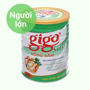 Sữa bột Gigo Sure hồng sâm lon 900g