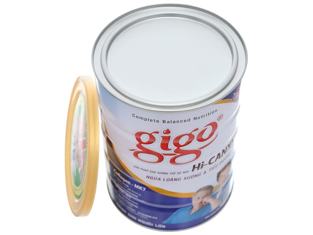 Sữa bột Gigo Hi - canxi lon 900g 6
