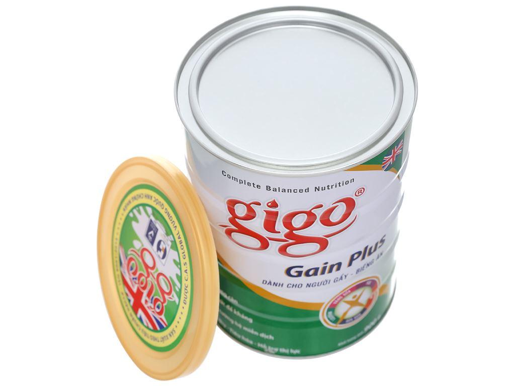 Sữa bột Gigo Gain Plus lon 900g 8