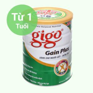 Sữa bột Gigo Gain Plus lon 900g