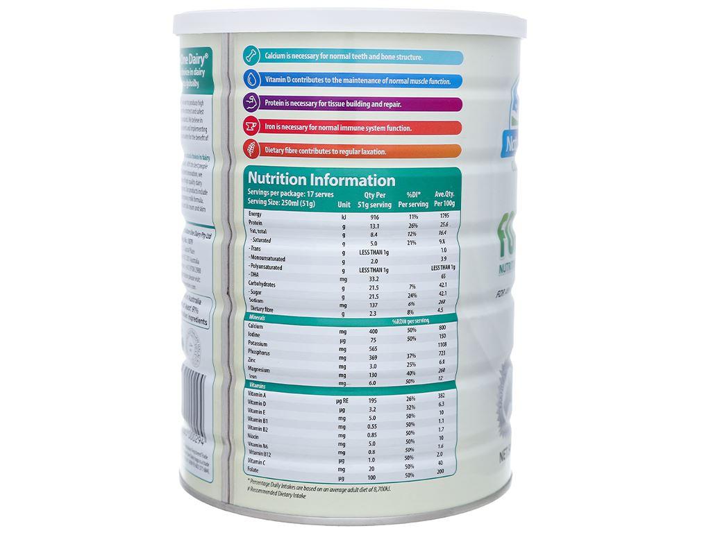 Sữa bột Nature One lon 900g (cho người lớn) 3