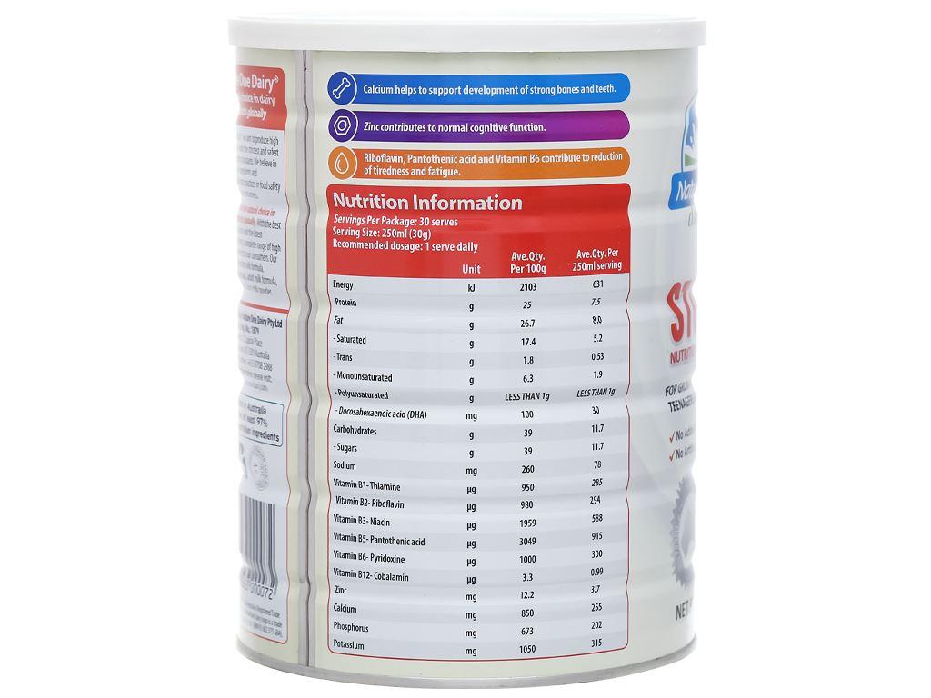 Sữa bột Nature One lon 900g (cho trẻ ở độ tuổi đi học) 3
