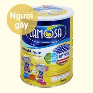 Sữa bột Lamosa Weight Gain lon 900g