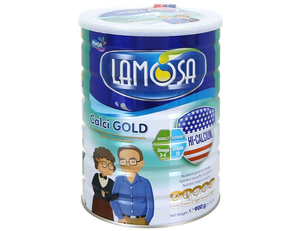 Sữa bột Lamosa Calci Gold lon 900g 1