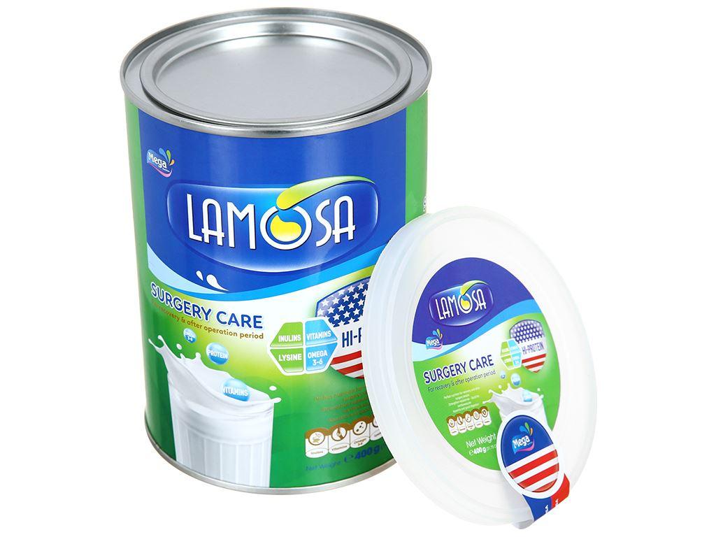 Sữa bột Lamosa Surgery Care lon 400g 6