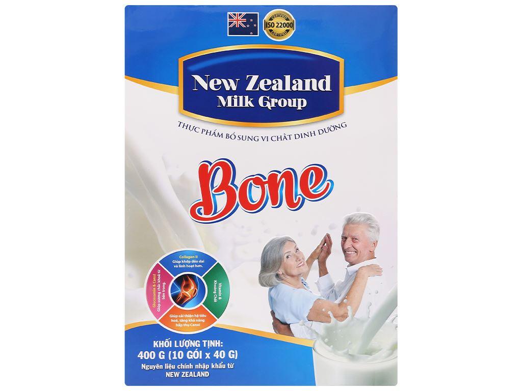 Sữa bột New Zealand Milk Bone hộp 400g (cho người lớn) 1