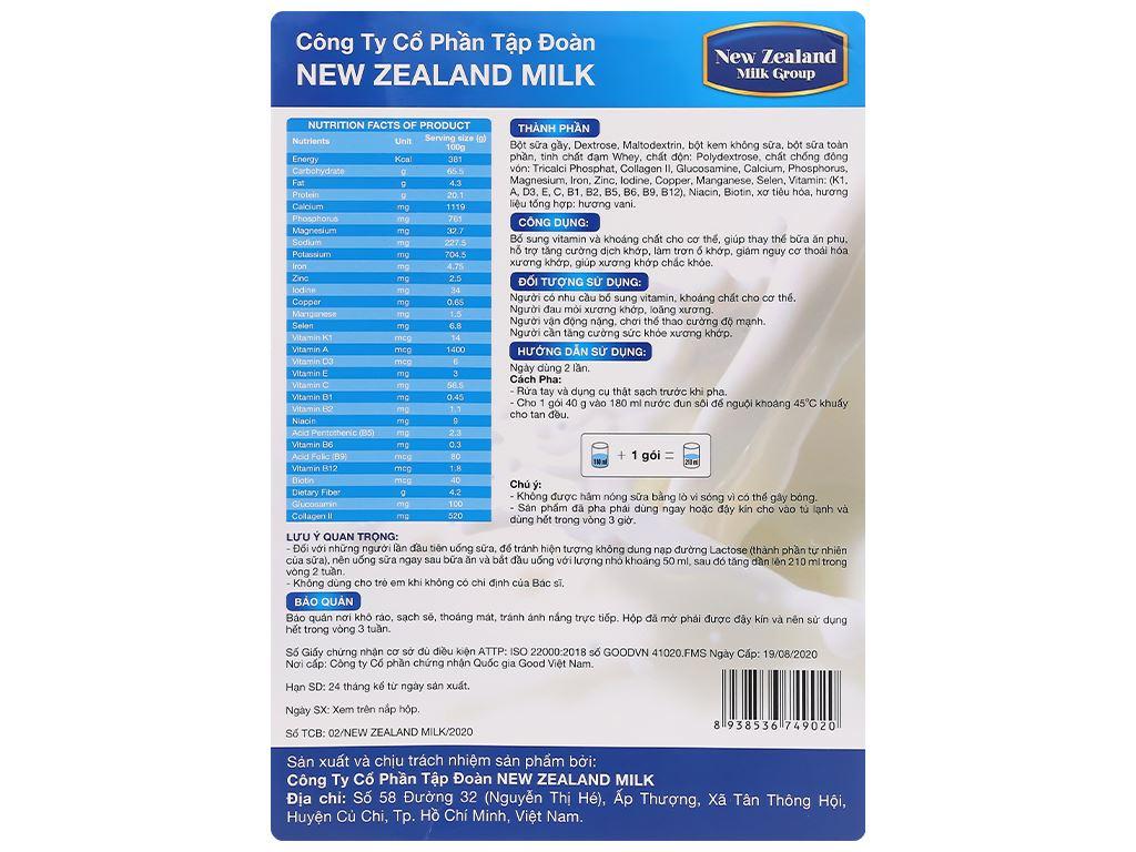 Sữa bột New Zealand Milk Bone hộp 400g (cho người lớn) 2