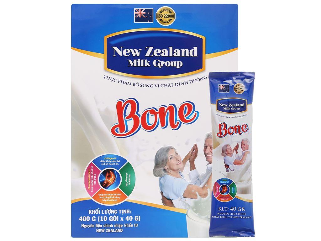 Sữa bột New Zealand Milk Bone hộp 400g (cho người lớn) 6