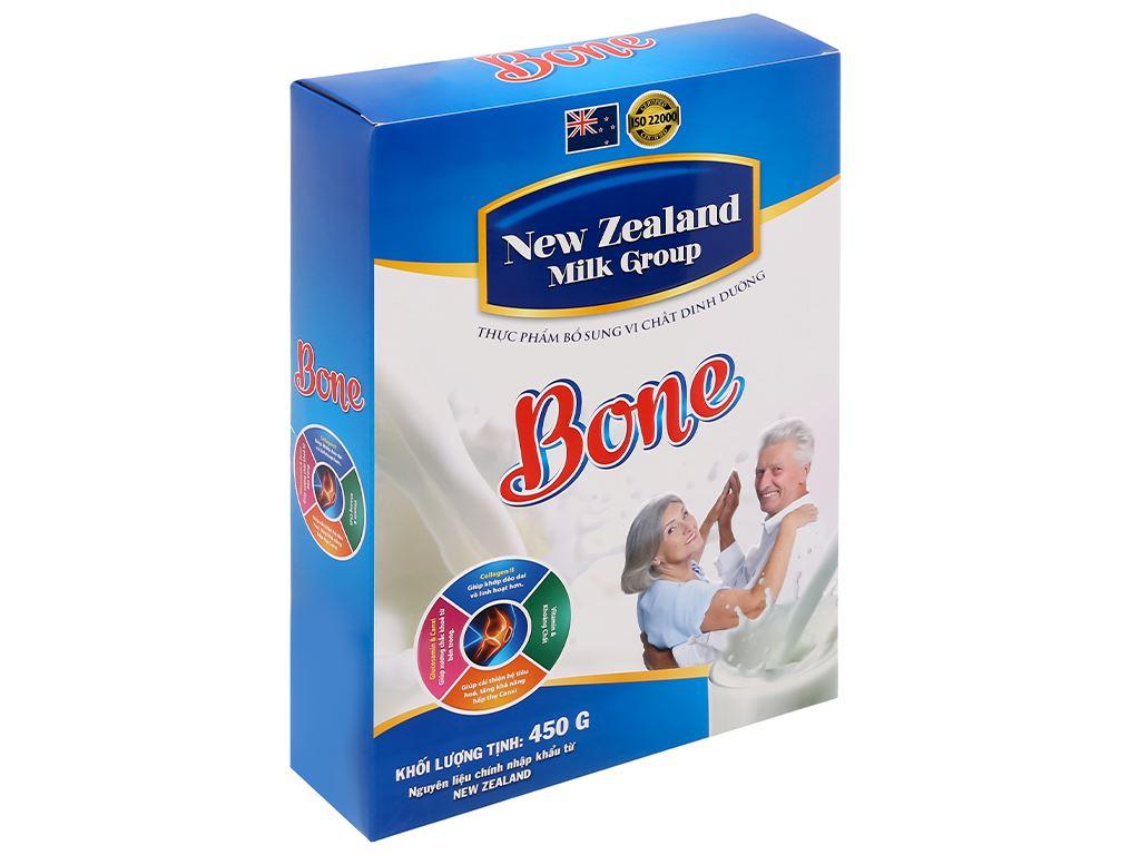 Sữa bột New Zealand Milk Bone hộp 450g (cho người lớn) 3