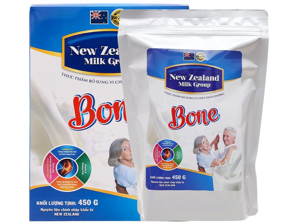 Sữa bột New Zealand Milk Bone hộp 450g (cho người lớn) 6