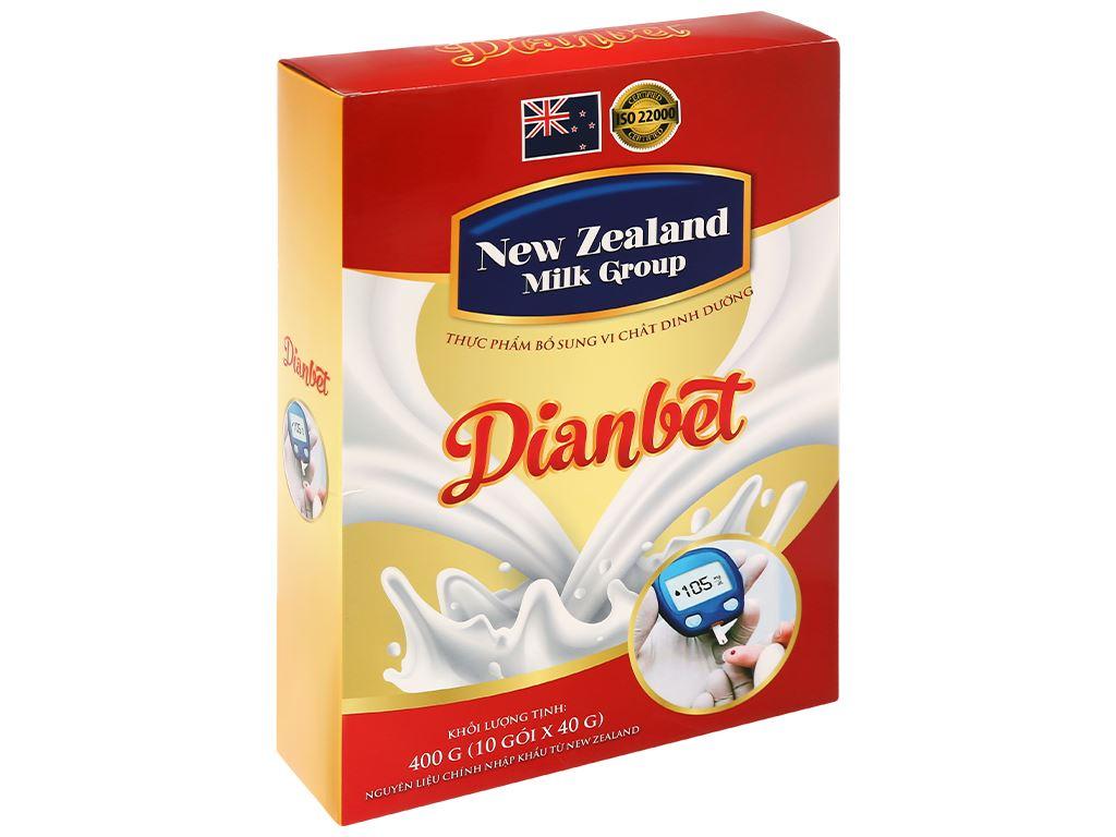 Sữa bột New Zealand Milk Dianbet hộp 400g (cho người lớn) 3