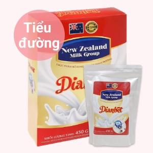 Sữa bột New Zealand Milk Dianbet hộp 450g (cho người lớn)